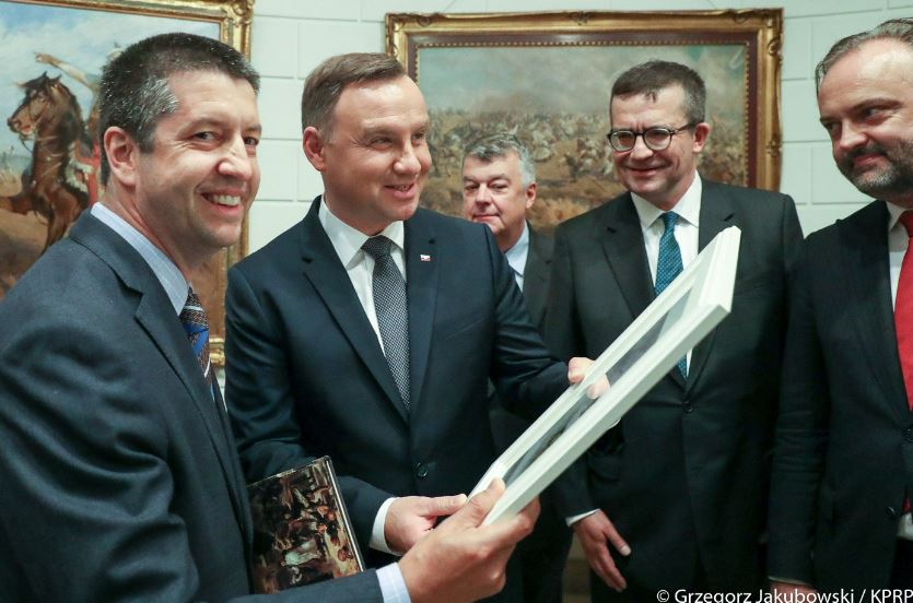 Prezydent Duda spotkał się z polskimi naukowcami