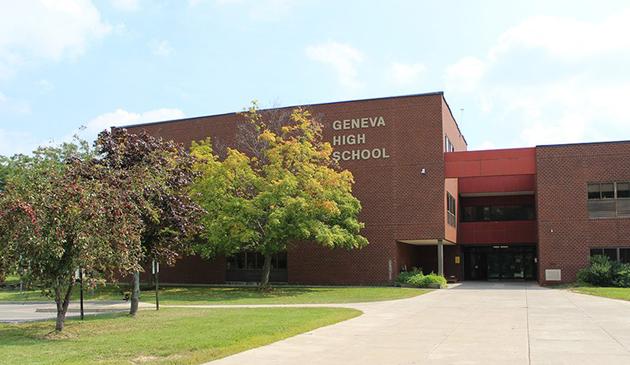 Pogróżki powodem wzmocnienia ochrony szkoły średniej w Geneva