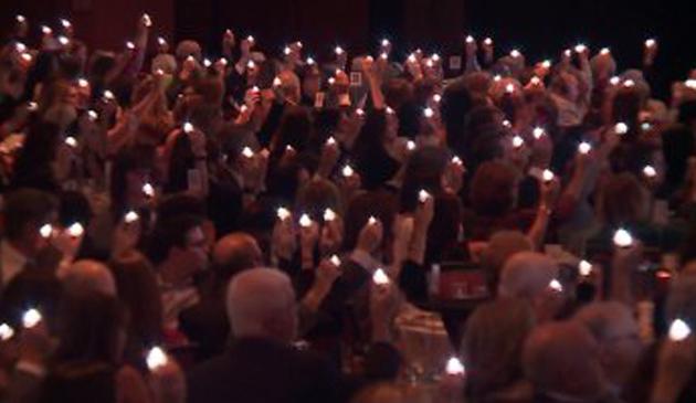 Doroczne przyjęcie z udziałem ocalałych z Holokaustu