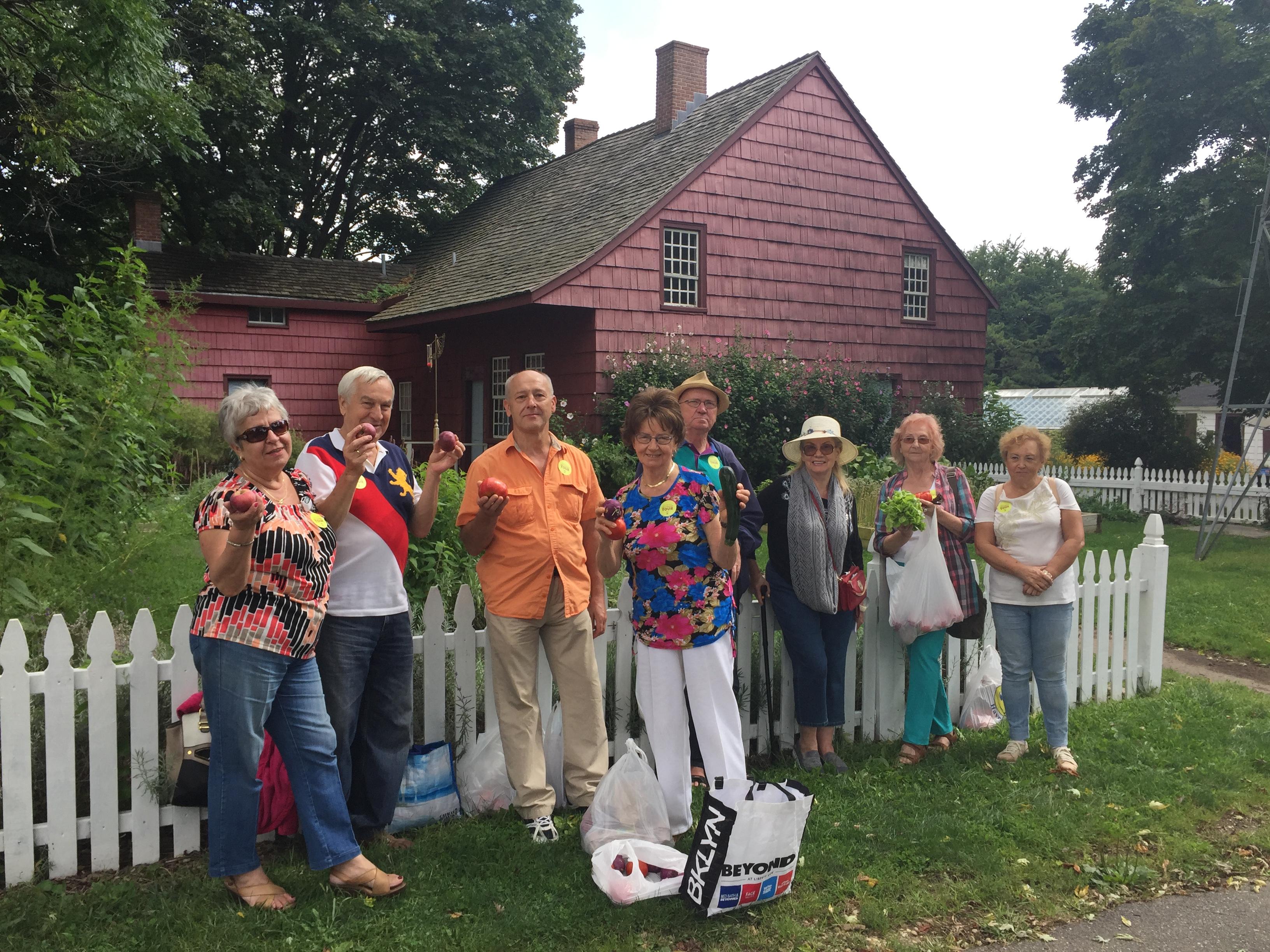 Spacery seniorów z Greenpointu