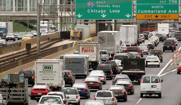 Chicago wśród najbardziej zakorkowanych miast w Stanach Zjednoczonych