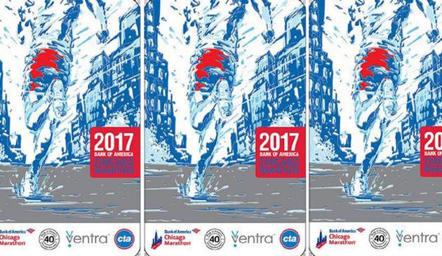 Specjalna edycja biletów CTA z okazji 40. maratonu Bank of America