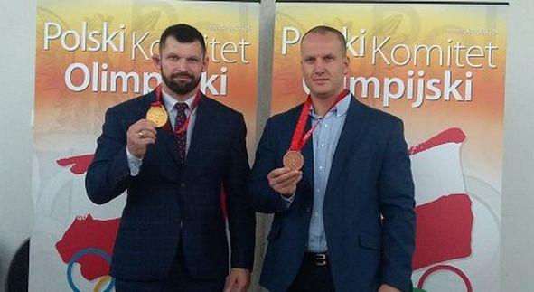 Kołecki i Dołęga po latach otrzymali olimpijskie medale