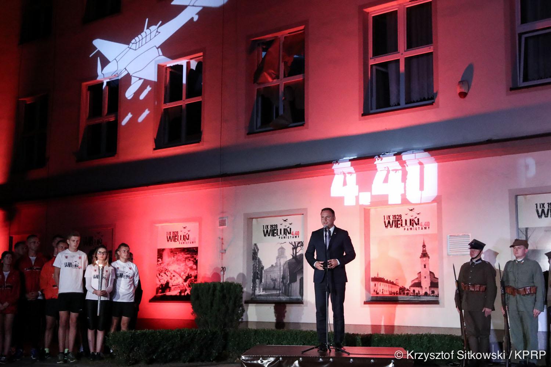 Obchody 78. rocznicy wybuchu II Wojny Światowej RELACJA