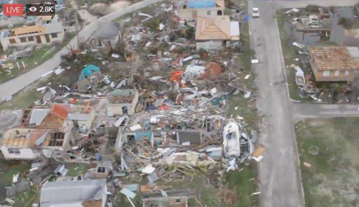 Huragan Irma powoduje ofiary i zniszczenia na Karaibach