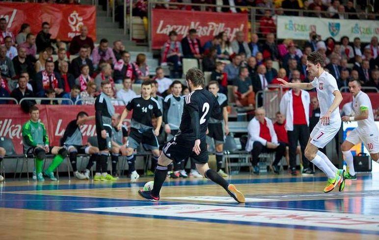 Futsalowy mecz barażowy Polska – Węgry