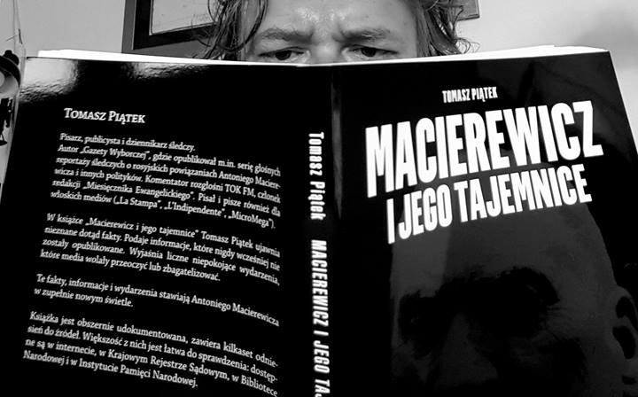 """Tomasz Piątek, autor książki """"Macierewicz i jego tajemnice"""" w Polski FM (rozmowa)"""