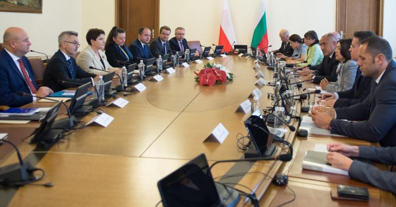 Premier Beata Szydło spotkała się z premierem Bułgarii