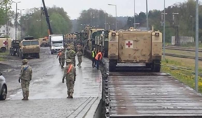 Lubuskie: Okradli amerykańskich żołnierzy w Żaganiu. Zatrzymano dwie osoby