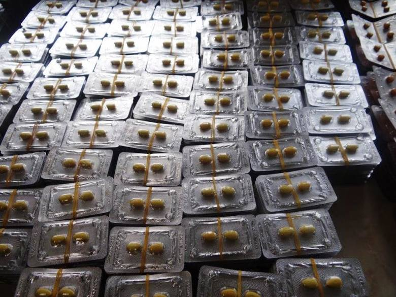 W Korczowej celnicy wykryli przemyt 28 tys. leków wspomagających potencję