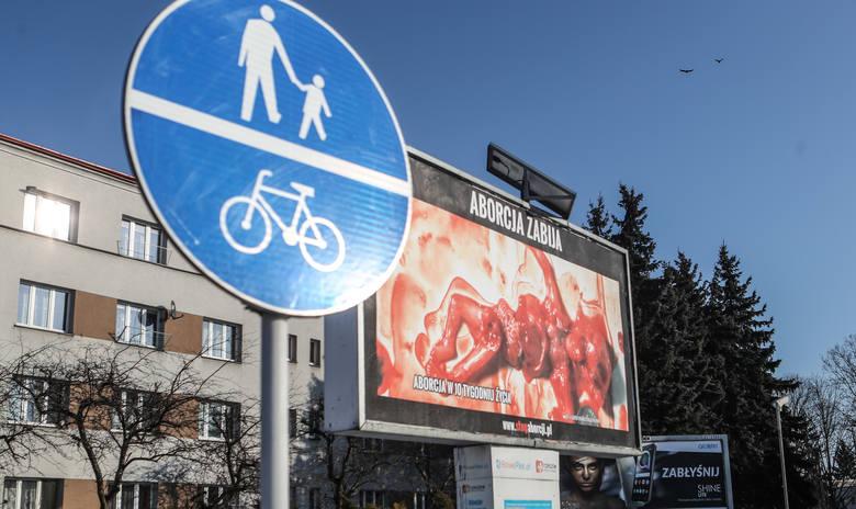 Sąd nałożył grzywnę za antyaborcyjne plakaty w Rzeszowie