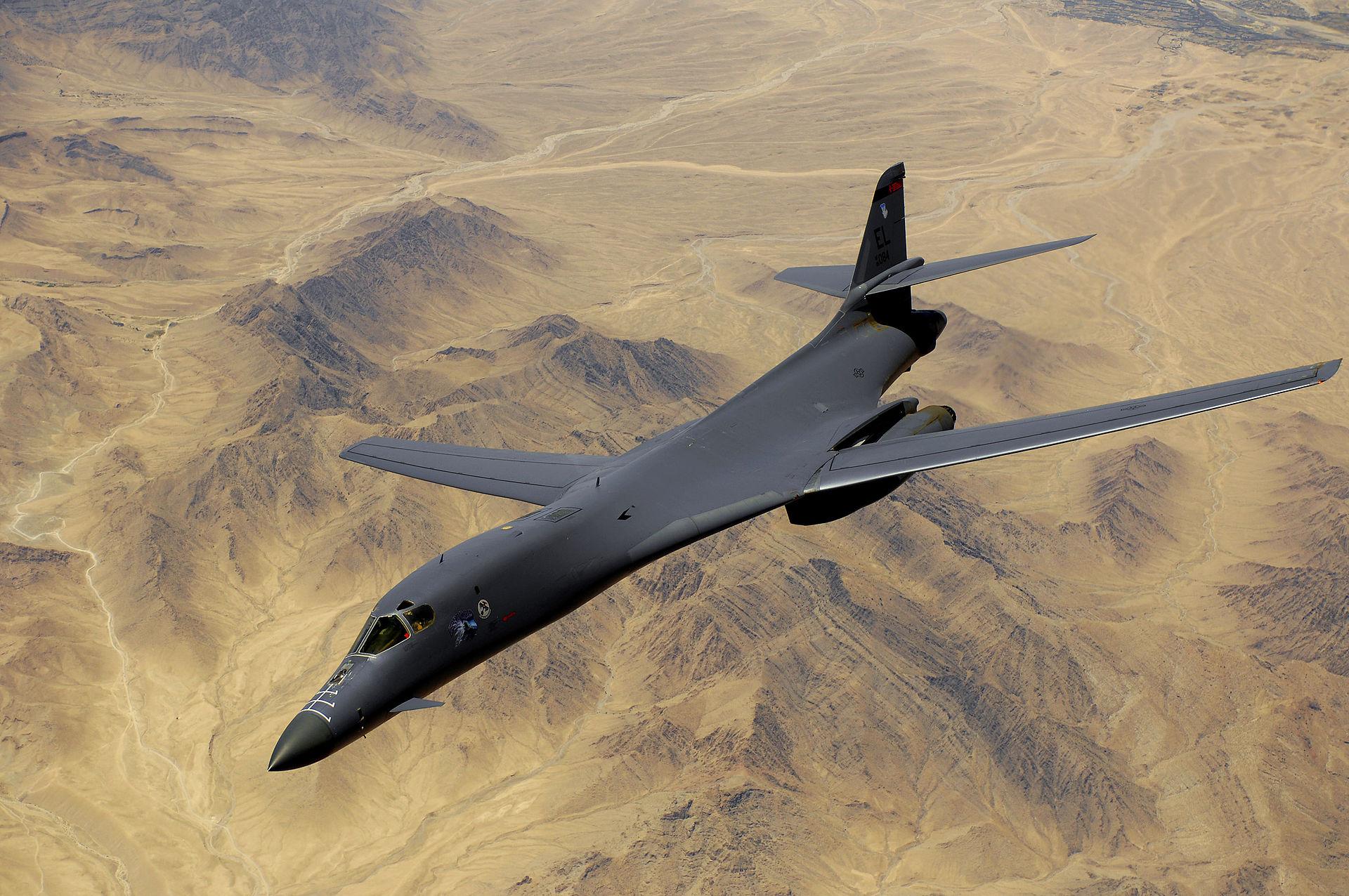Amerykańskie bombowce w rejonie Korei Północnej