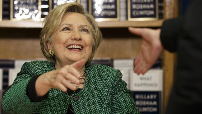 """Hillary Clinton w Chicago promowała swoją najnowszą książkę """"What Happened"""""""