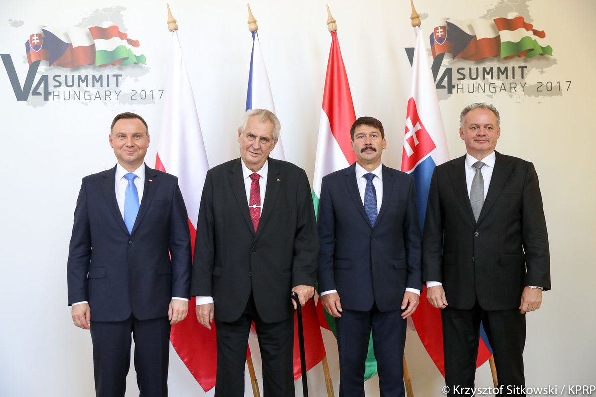 Węgry: Spotkanie prezydentów V4