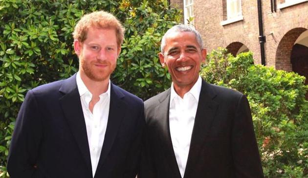 Książę Harry wystąpi podczas szczytu światowych liderów fundacji im. Baracka Obamy