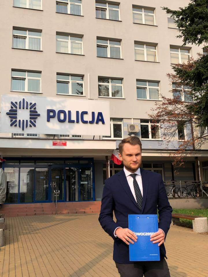 """Białystok: Poseł Nowoczesnej Krzysztof Truskolaski zgłosił hejt na policję. """"Będziesz kur.. wisiał"""""""
