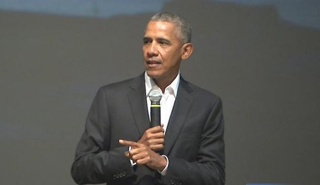 Duże zainteresowanie wykładem Baracka Obamy na Uniwersytecie Illinois