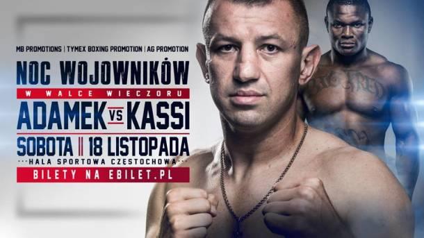 Gala boksu w Częstochowie. Kto wejdzie na ring oprócz Adamka?