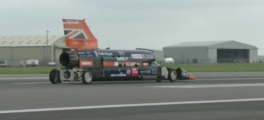 1610 kilometrów na godzinę… Taką prędkość ma osiągnąć samochód zaprezentowany w Wielkiej Brytanii