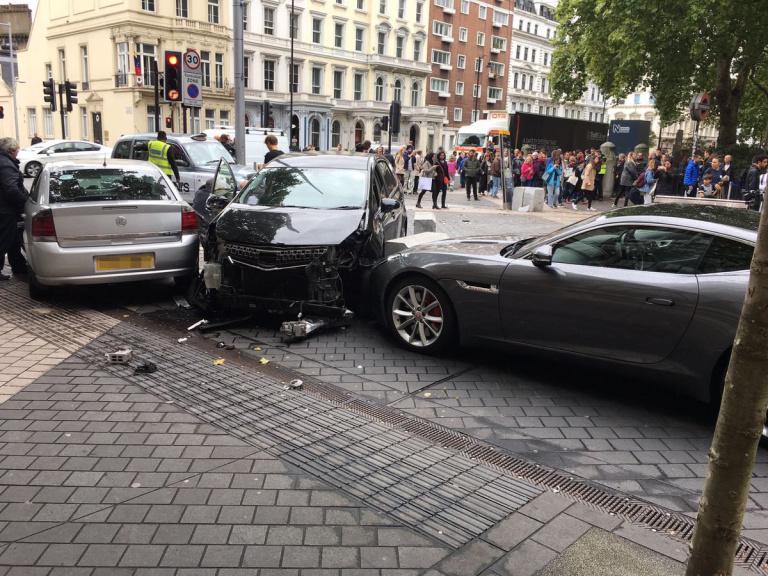 Incydent w pobliżu muzeum w Londynie nie był zamachem terrorystycznym
