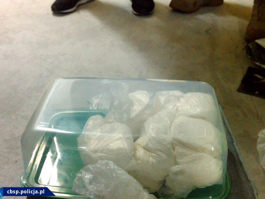 11 kilogramów amfetaminy przejęło CBŚP