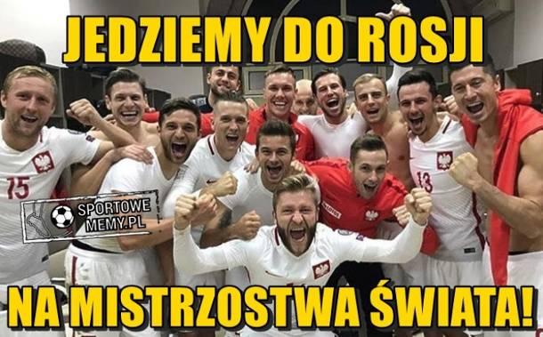 Polska pokonała Czarnogórę 4:2. Jedziemy na mundial!