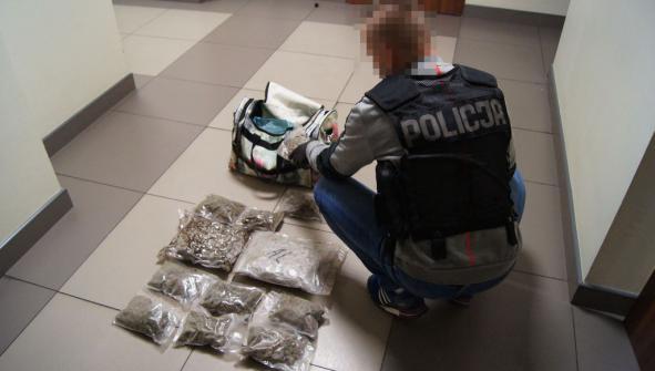 Uderzenie w narkotykowy biznes. Sukces siedleckich policjantów