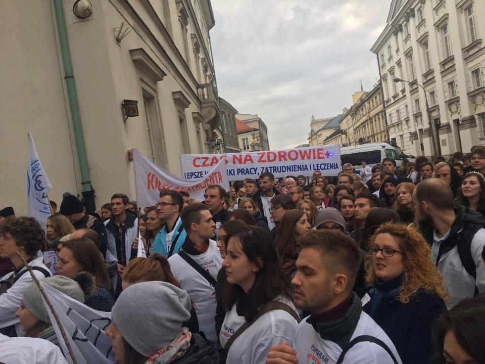 W sobotę protest lekarzy przed kancelarią premiera