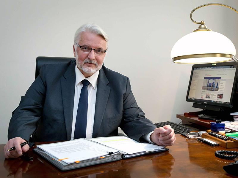 Minister W.Waszczykowskiw Azerbejdżanie. Początek wizyty