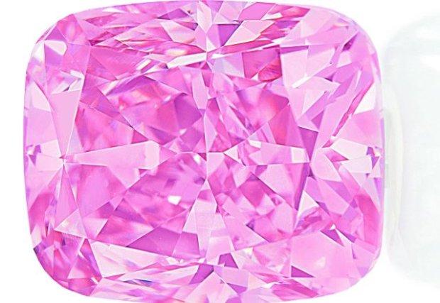 Największy różowy brylant świata jest do kupienia