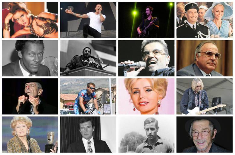 Znani artyści, politycy i sportowcy, którzy odeszli w ciągu ostatnich 12 miesięcy