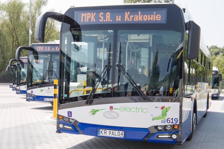 Kraków. Przybędzie 38 ekologicznych autobusów