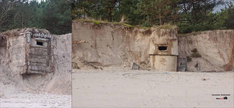 Niesamowite znalezisko na Helu. Orkan Grzegorz odkrył bunkry na plaży