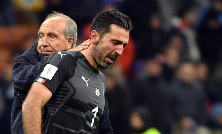 """Gianluigi Buffon odchodzi ze łzami w oczach. """"Jest mi wstyd"""""""