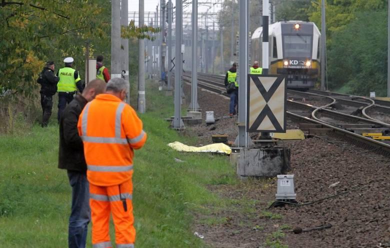 Wypadek na torach na Dolnym Śląsku: Matka z dzieckiem wpadła pod pociąg
