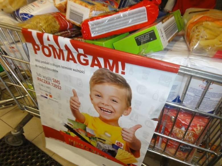 """Pomorze: Zbiórka Żywności Caritas """"Tak, pomagam"""""""