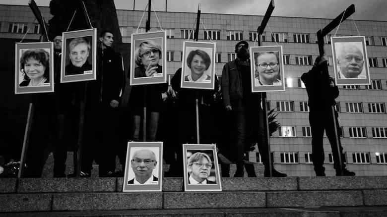 Katowice: Narodowcy odpowiedzą za zdjęcia europosłów na szubienicach