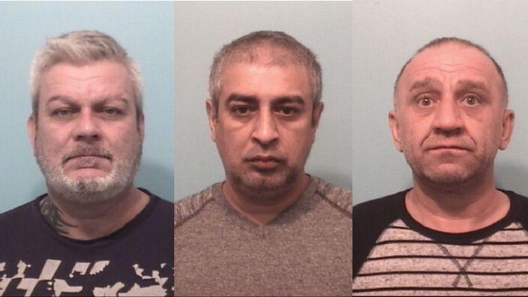 Policja aresztowała 3 mężczyzn za oszustwa bankowe