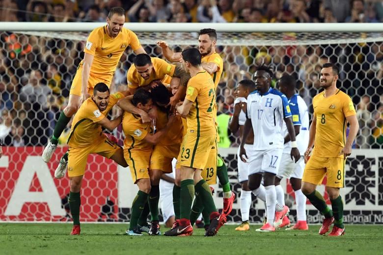 MŚ 2018. Australia też jedzie na mundial. Awansowała jako przedostatnia drużyna