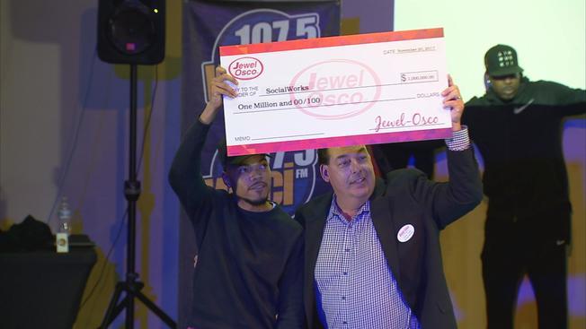 Sklepy Jewel Osco przekazały milion dolarów dla CPS