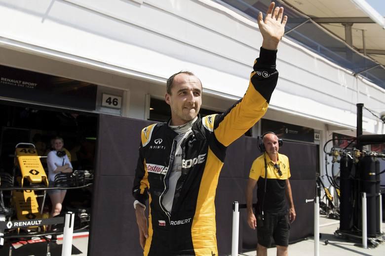 Formuła 1: Kubica weźmie udział w testach w Bahrajnie