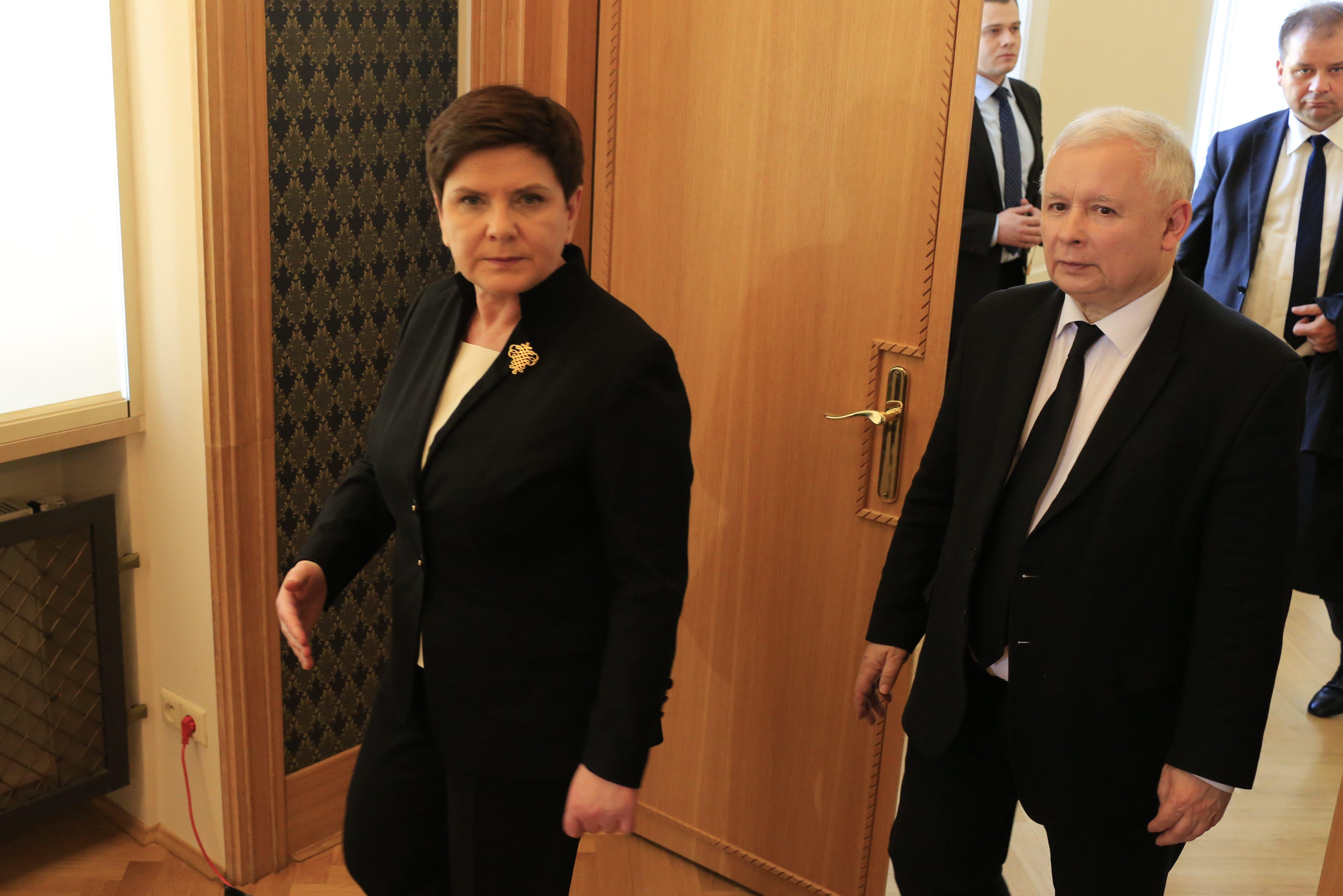 Premier i prezes PiS podsumują dwa lata rządów