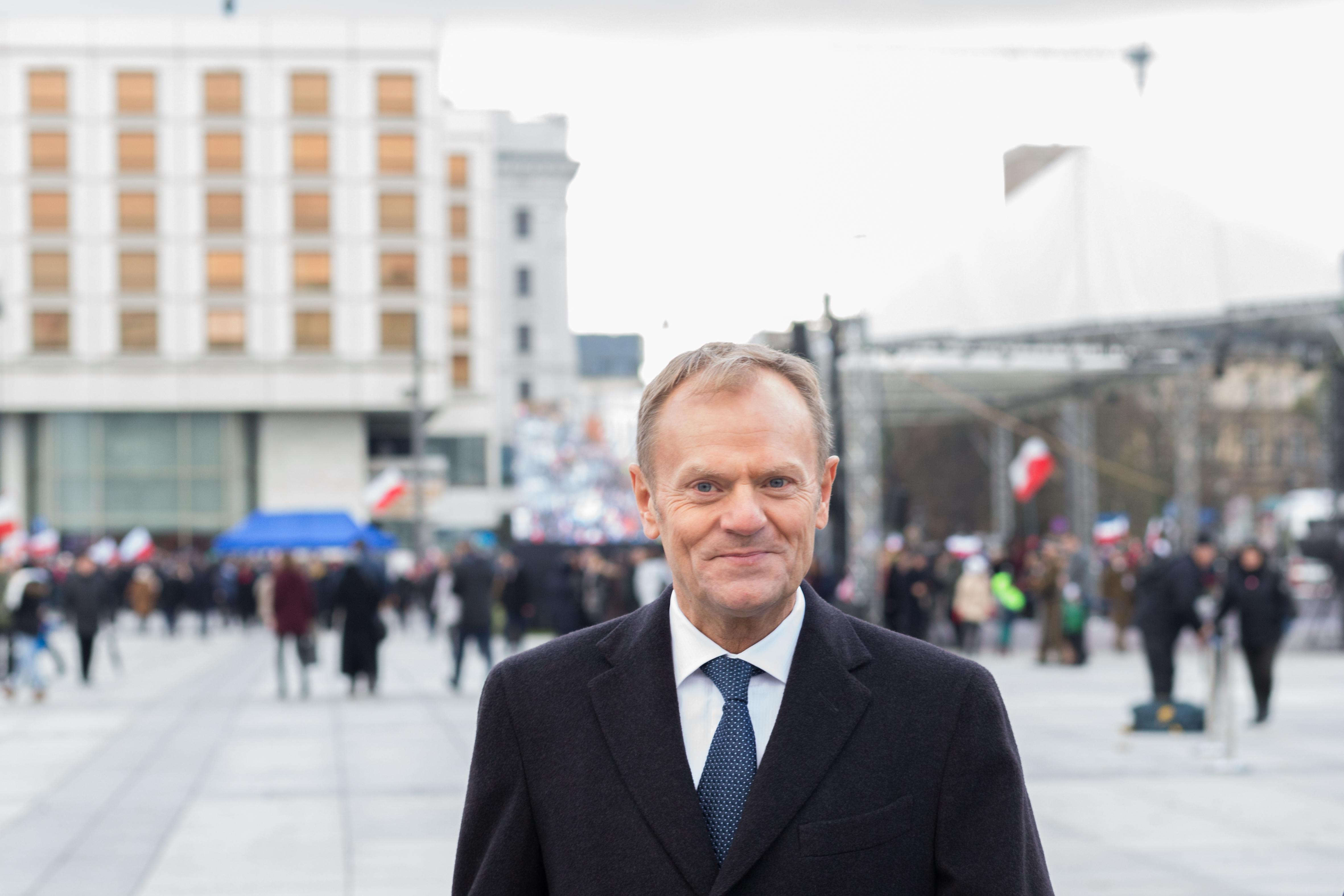 """Donald Tusk komentuje Marsz Niepodległości: """"Reputacyjna katastrofa"""""""
