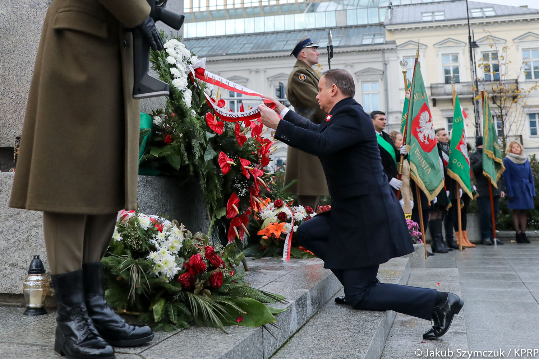 W Warszawie trwają uroczystości upamiętniające 99 rocznicę odzyskania przez Polskę niepodległości.
