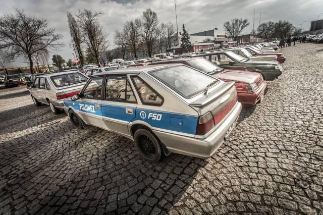 FSO Żerań: Zlot zabytkowych samochodów