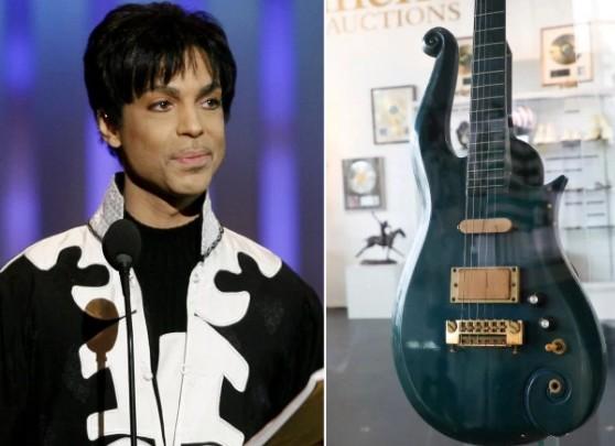 700 tysięcy dolarów za gitarę Prince'a