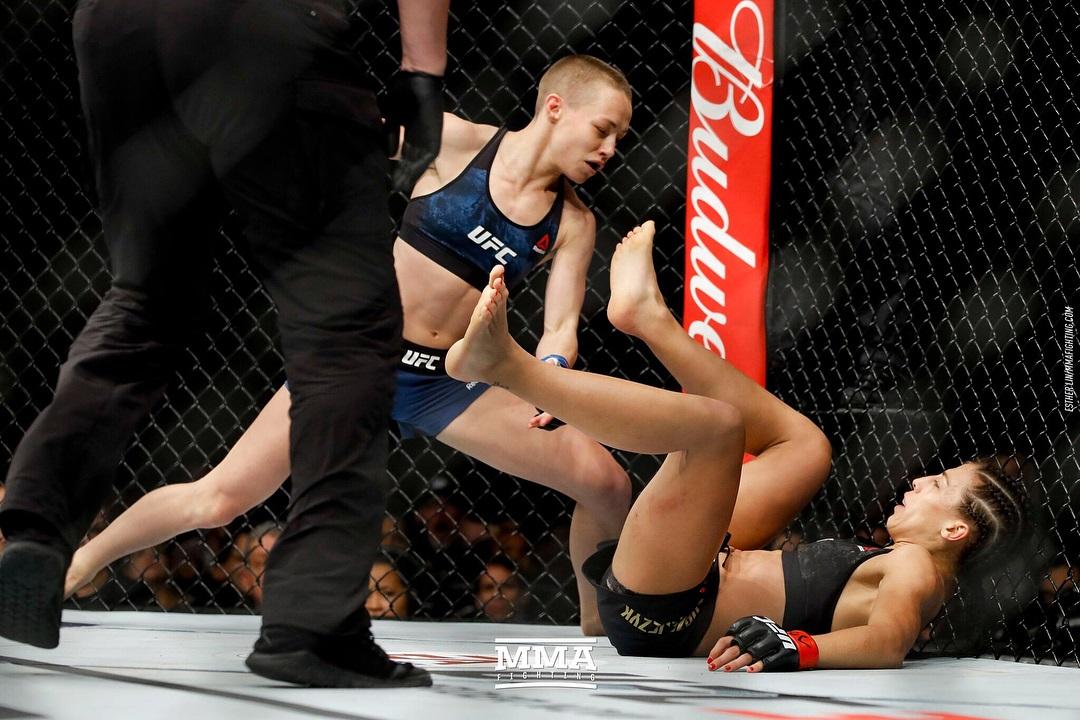 Joanna Jędrzejczyk zdetronizowana! Rose Namajunas zdemolowała polską mistrzynię UFC