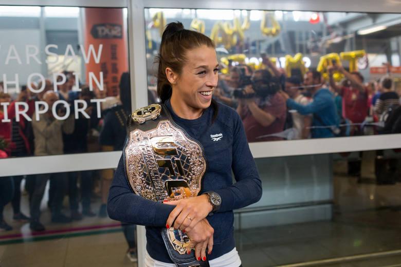 Joanna Jędrzejczyk idzie na rekord. W Nowym Jorku powróci też legenda UFC