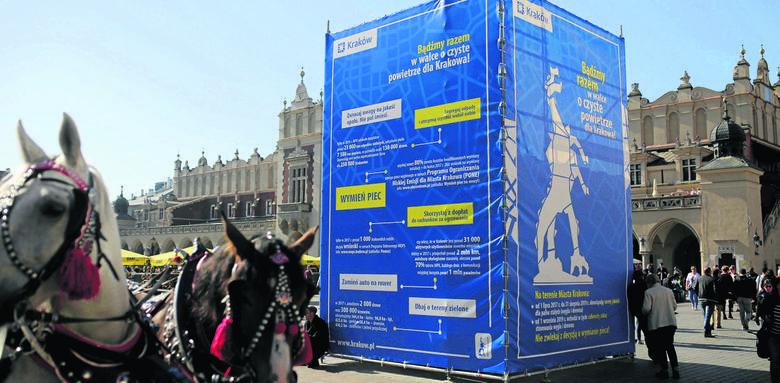 Kraków robi porządki w reklamach, ale dopuszcza zaśmiecanie centrum