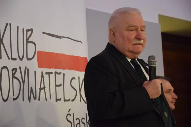 Lech Wałęsa w Tychach: Jestem za, a nawet  przeciw, ale to nie ja…